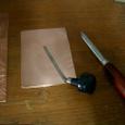銅版画の道具