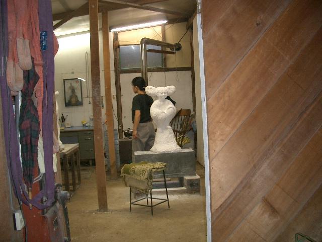 彫刻アトリエ
