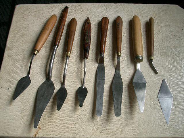 ペンティングナイフ