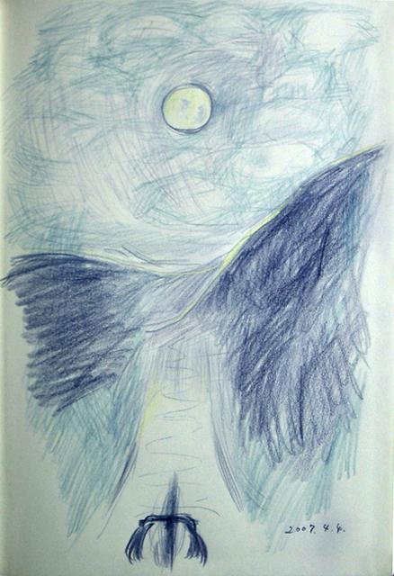 月夜のジテツー