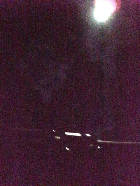 月夜のMTB