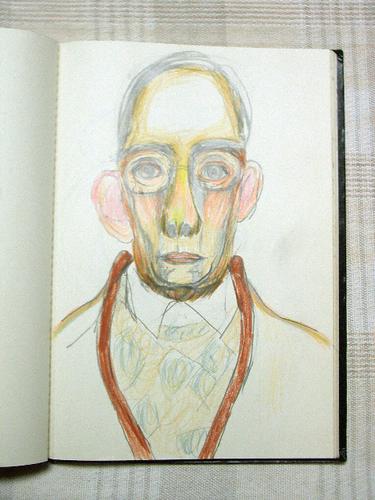 ウハチさんの肖像