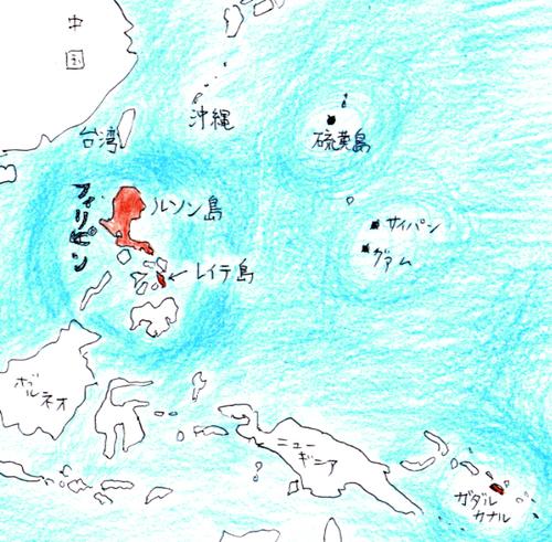 ルソン島周辺図
